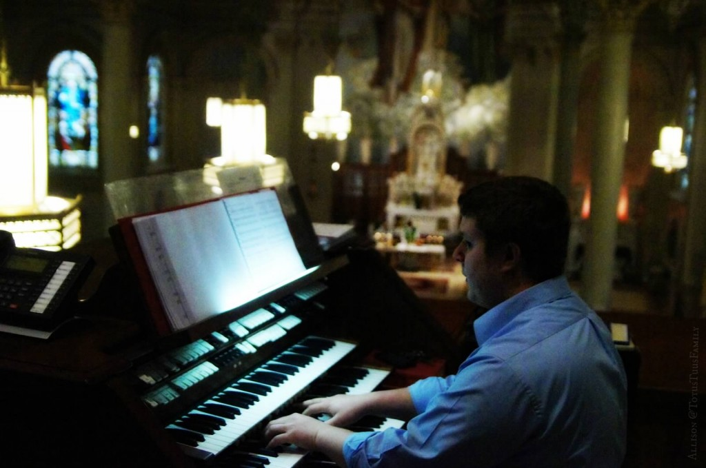 st. peters choir director