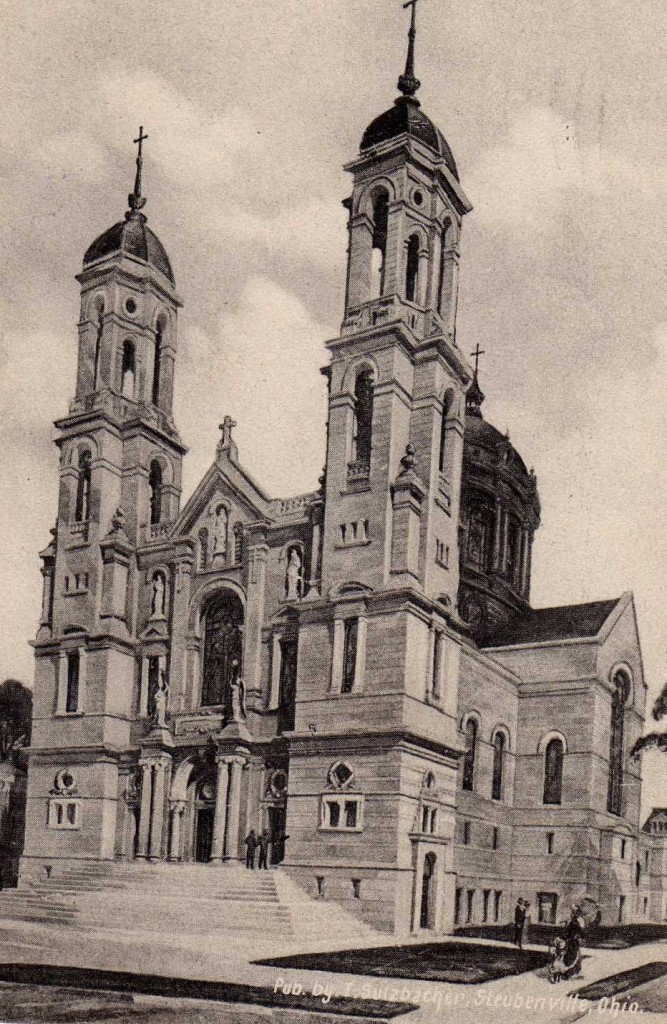 Steubenville's first Catholic Church
