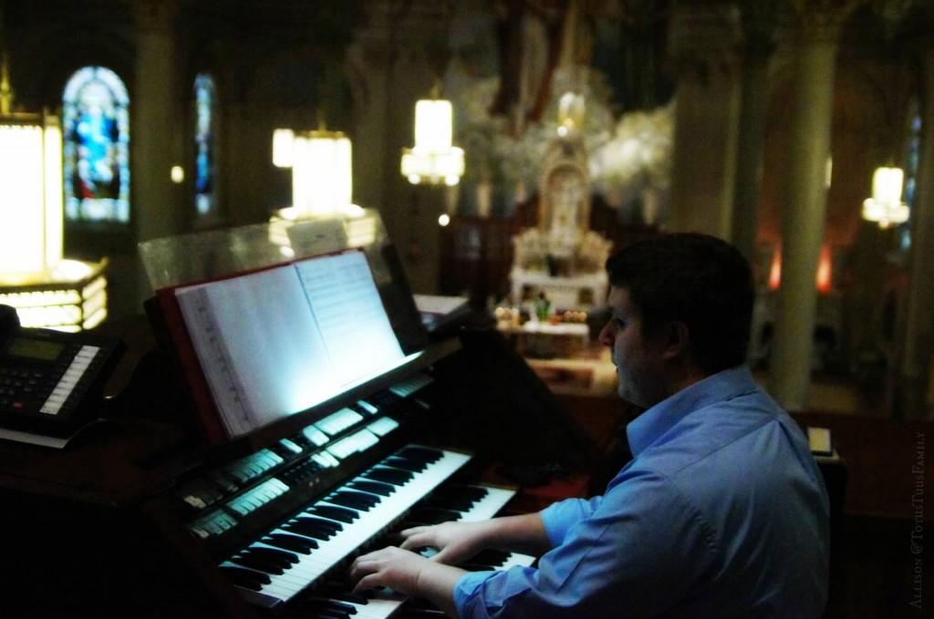 st. peters choir director